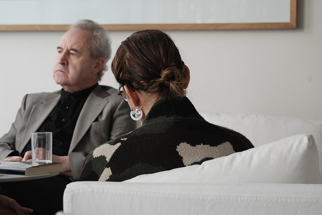 John Banville y Emma Rodríguez - Nacho Goberna © 2013
