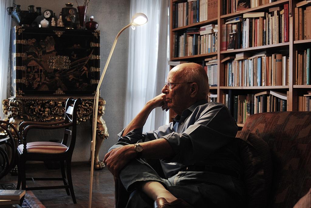 Emilio LLedó en su casa de Madrid - Por Nacho Goberna © 2013