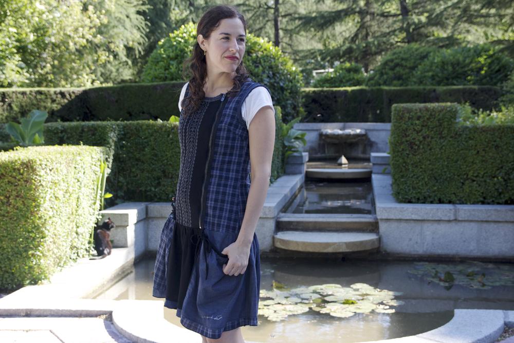 Guadalupe Nettel en el Parque del Retiro de Madrid. Karina Beltrán © 2013