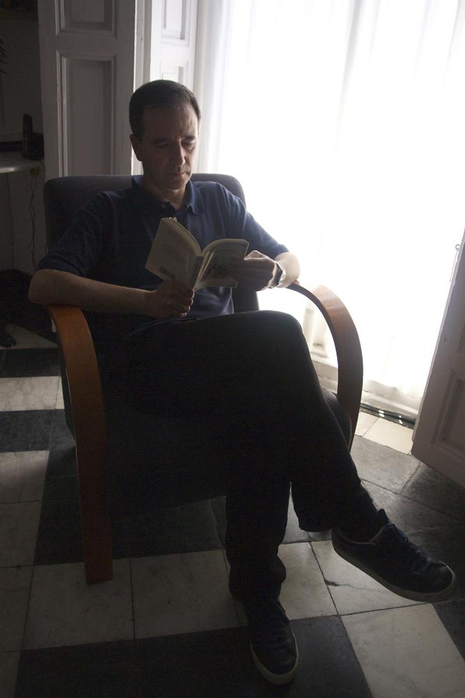 """Martín Casariego: """"Empecé con Tintín, Astérix y Lucky Luke"""""""