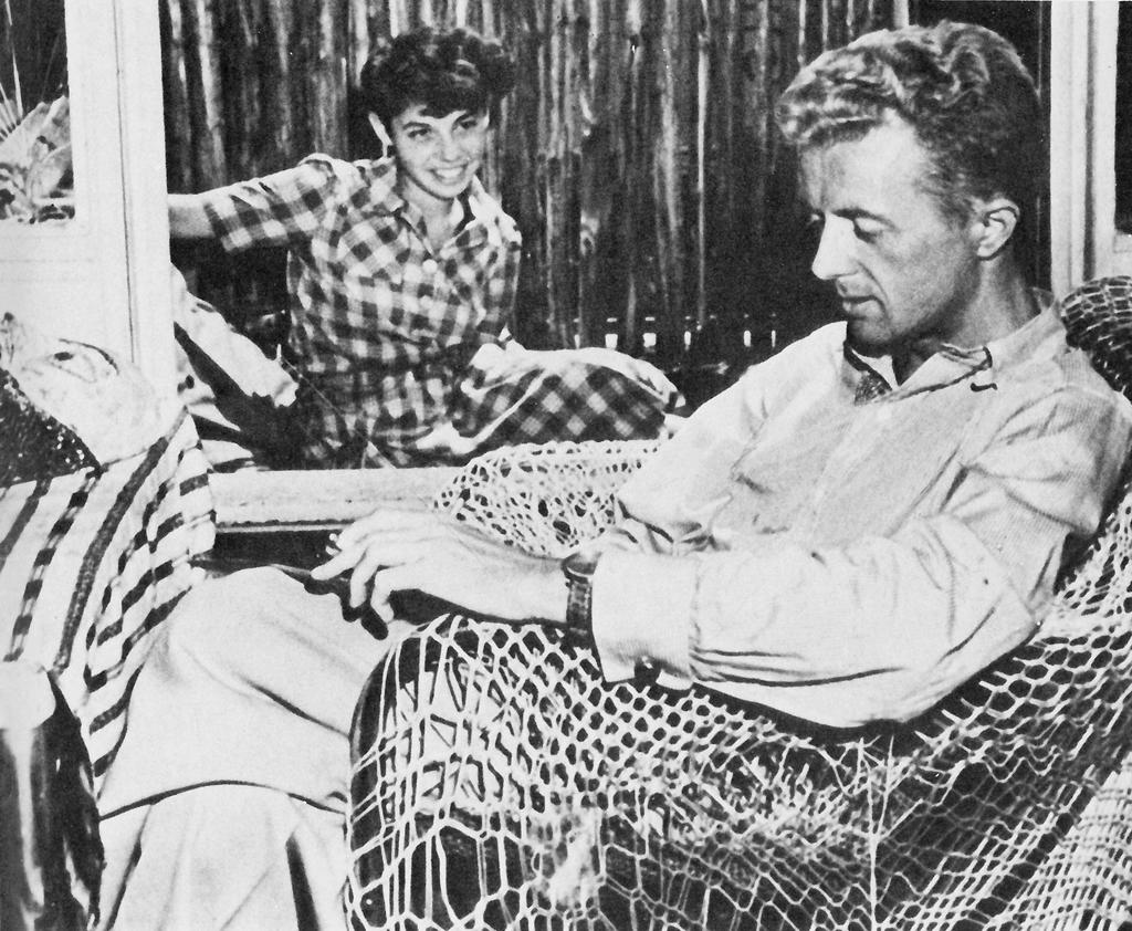 Paul y Jane en Nueva York. 1944. Fotografía © descendientes de Paul Bowles