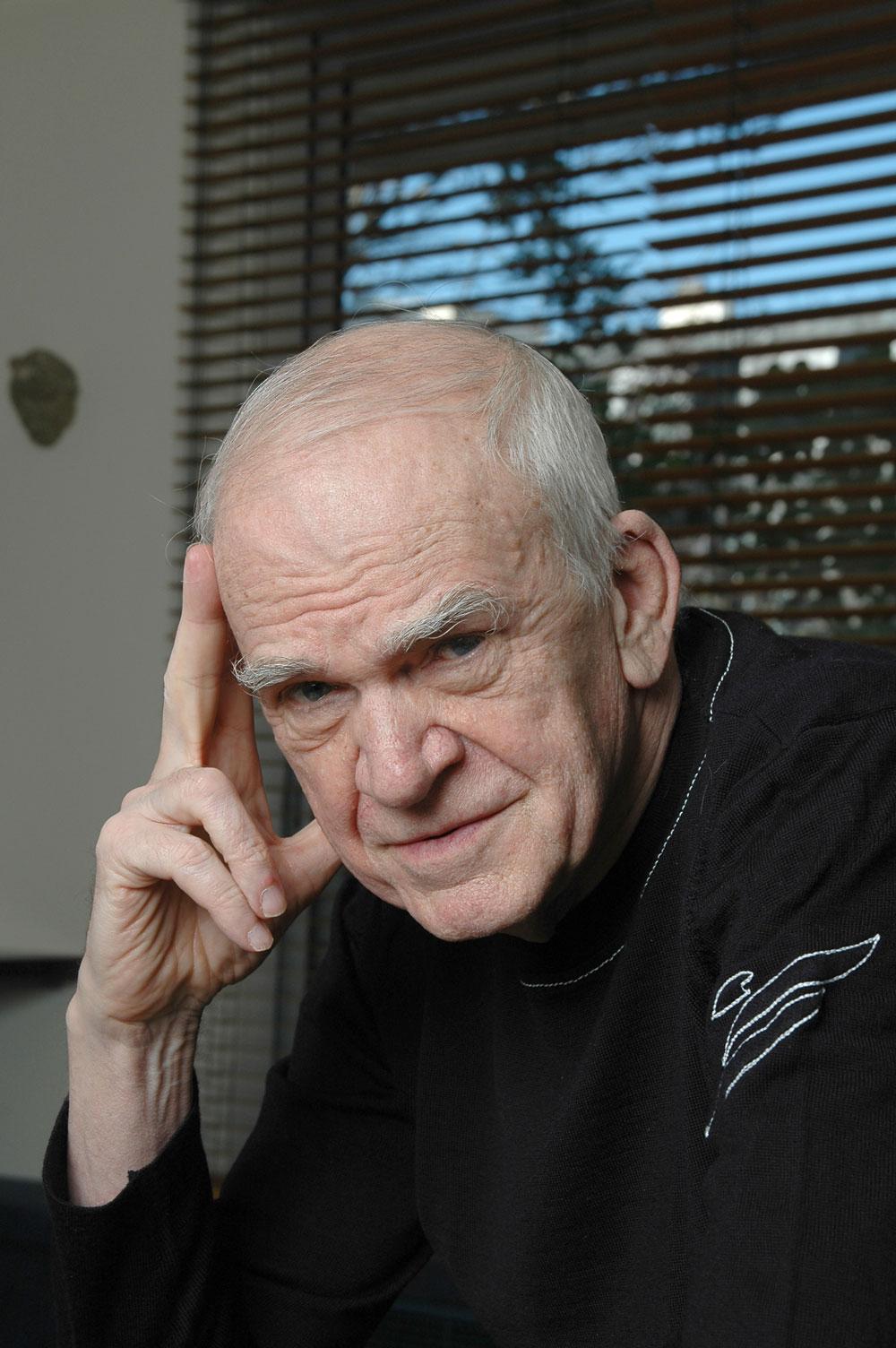Milan Kundera por Catherine Hélie © Gallimard