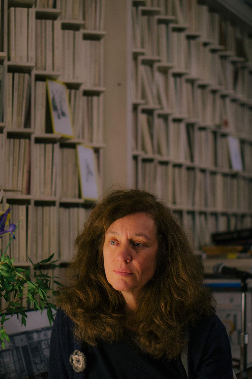 Lola Larumbe en la librería Rafael Alberti de Madrid. Por Nacho Goberna © 2015
