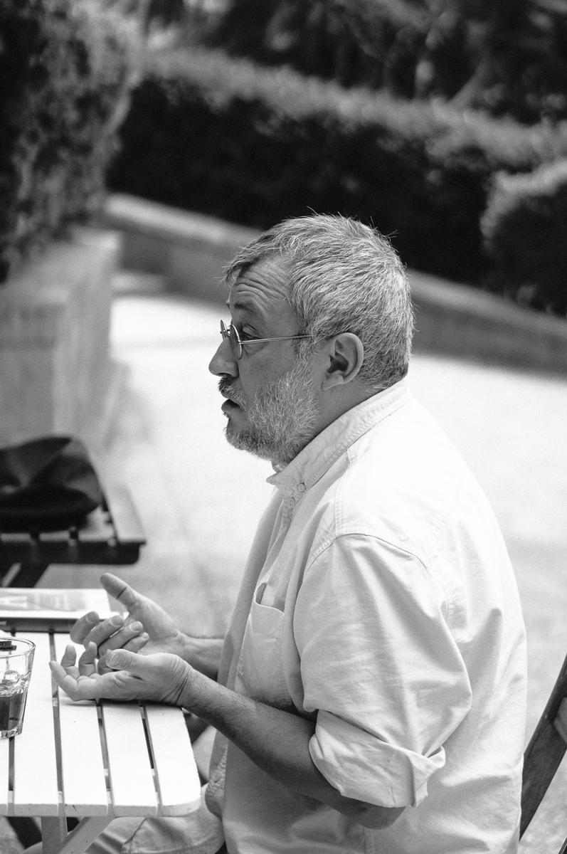 Jorge Riechmann. Por Nacho Goberna © 2015