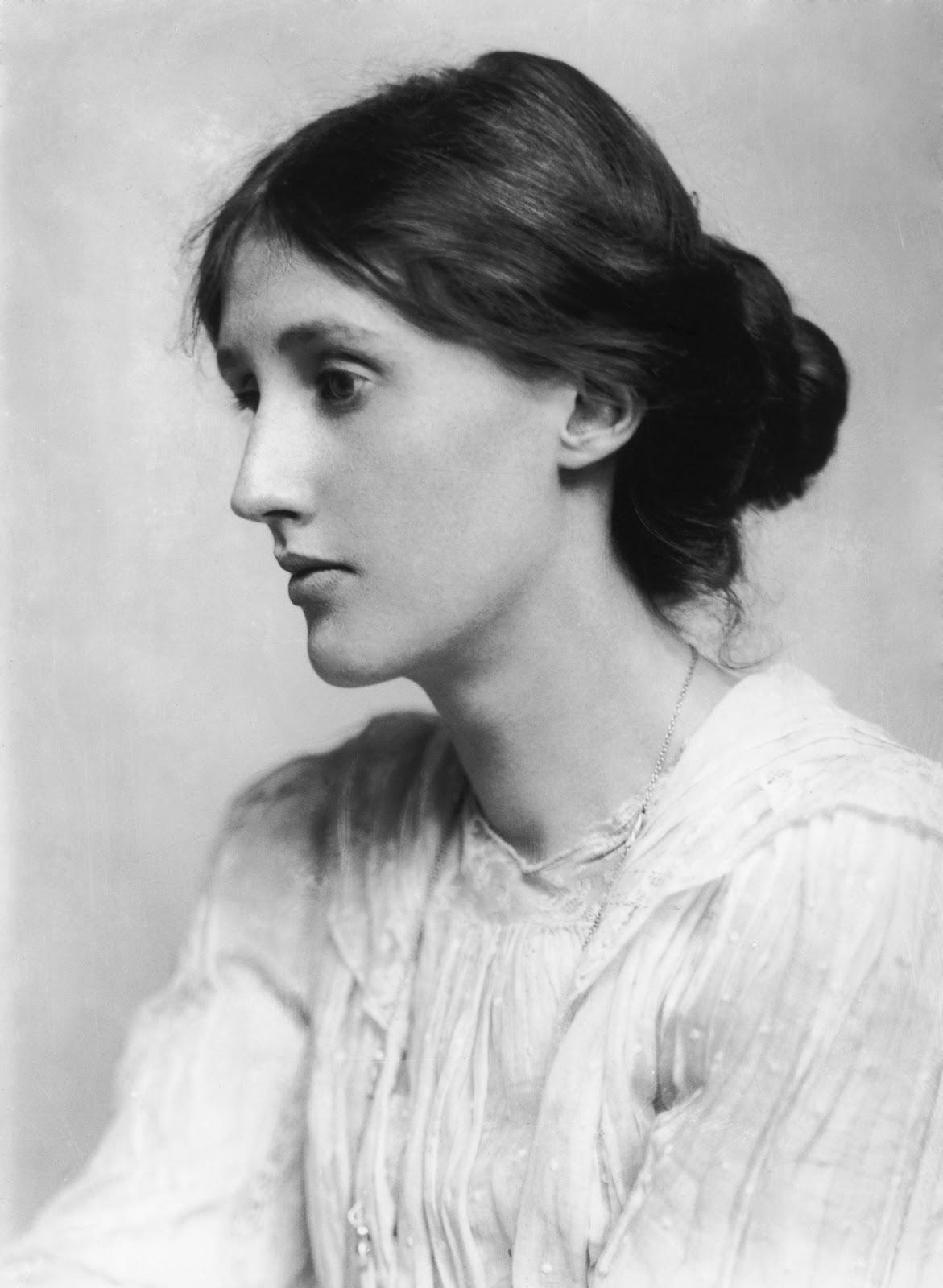 Fotografía de Virginia Woolf por George Charles Beresford