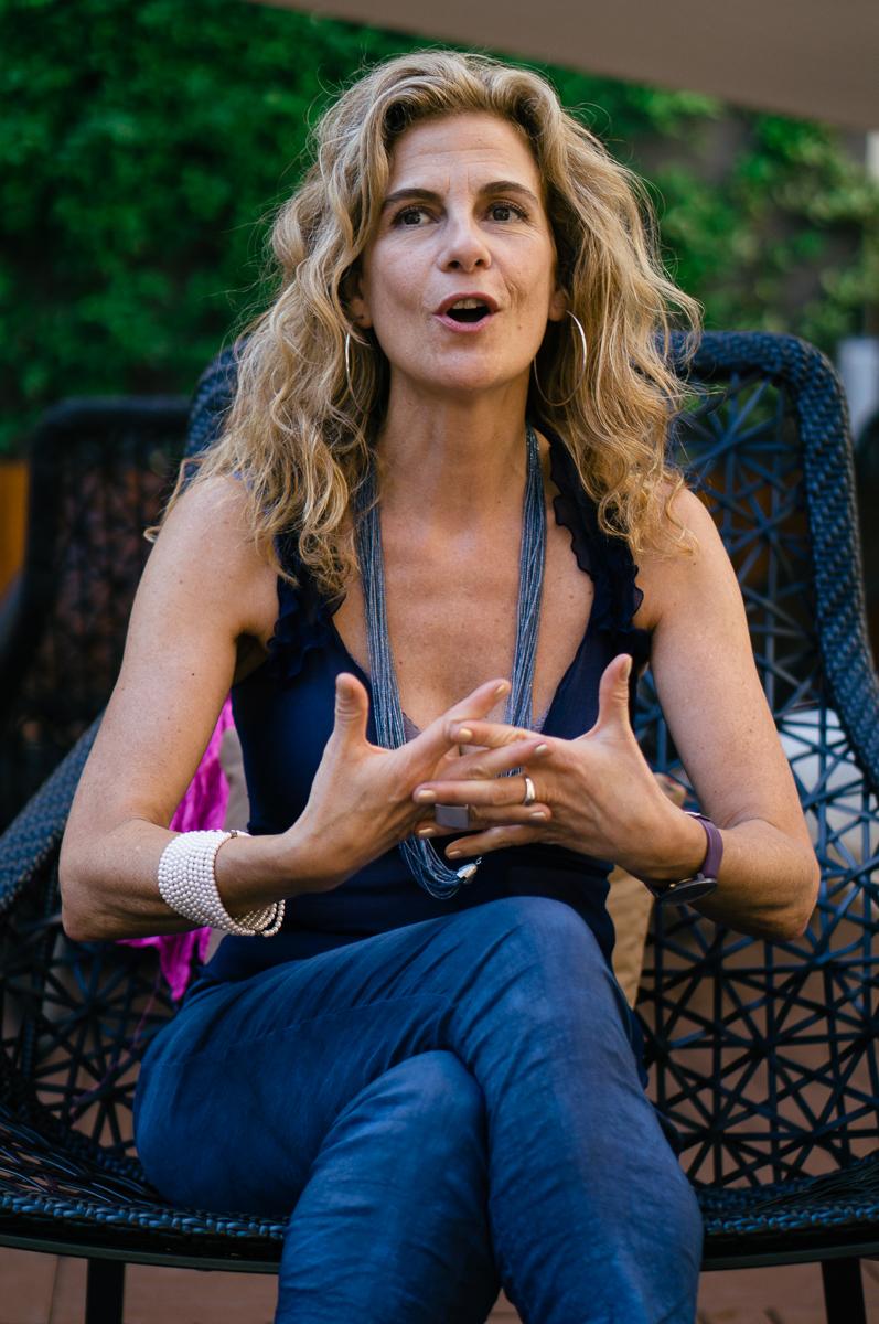 Patrícia Soley-Beltran. Fotografía © Nacho Goberna 2015