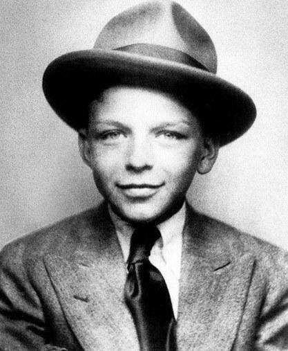 Frank Sinatra a los 7 años, circa 1922 Fotografía por Michael Ochs Archives