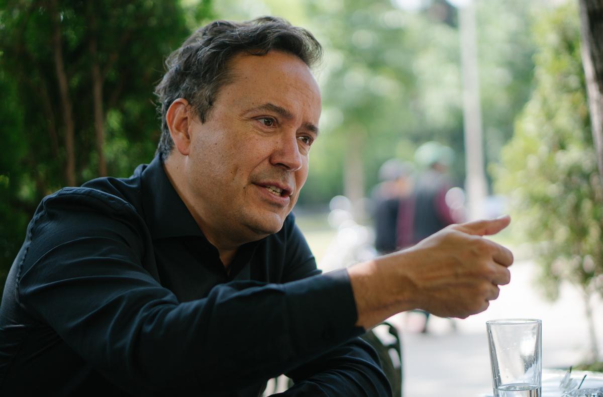 Juan Arnau. Fotografía por Nacho Goberna