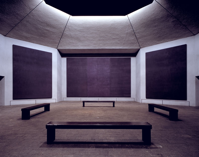 Rothko Chapel en Houston, Texas, USA.