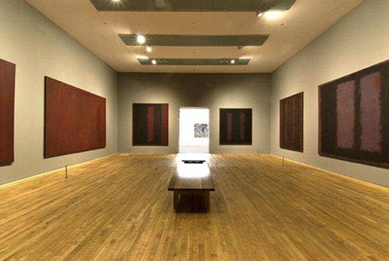 Sala Mark Rothko en la Tate Gallery de Londres.